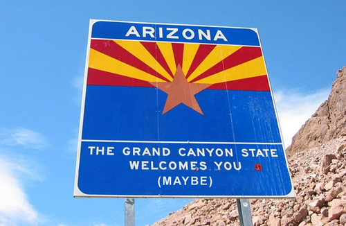 Arizona: Land of the free, home of the White - What Would