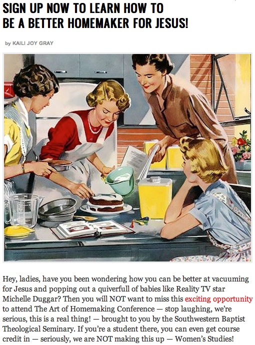 Todays Welcome Back To The 50s Moment Like Jesus Always Said A Womans Place Is In Kitchen
