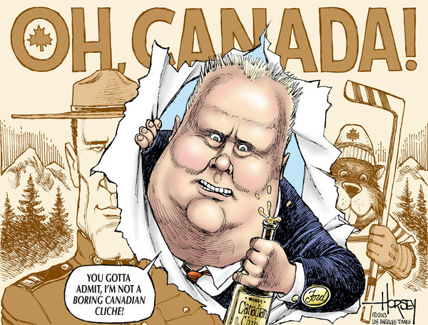 Rob Ford Canadas Gift To The American Infotainment Industry