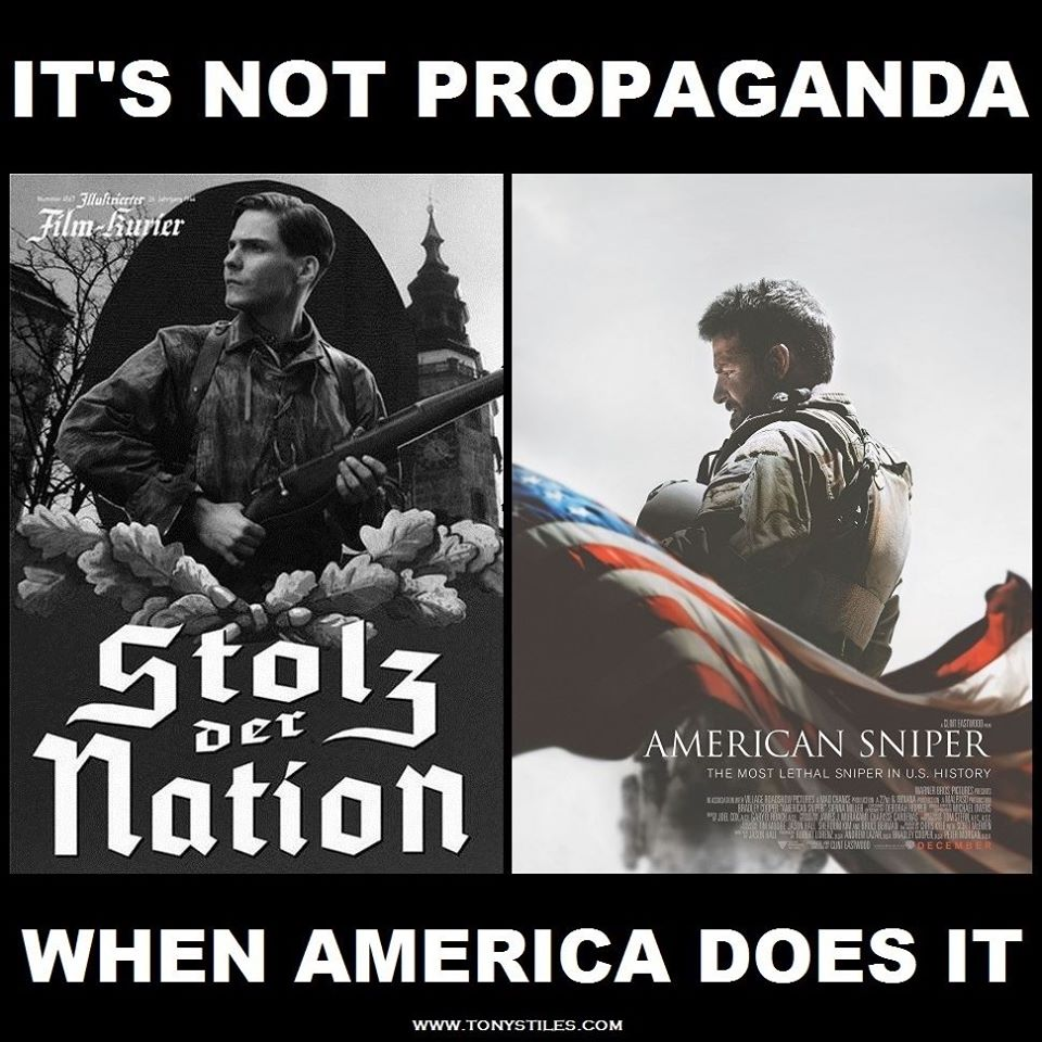the invasion of iraq an american propaganda Why the invasion of iraq was the single worst foreign policy decision in american history why the invasion of iraq was the single  some of the propaganda,.