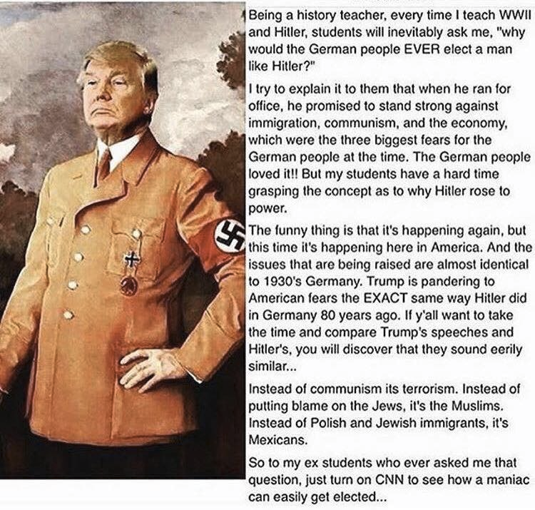 what did hitler promise the people Hitler's promises people supported hitler becausehe promised them what they wanted and needed to hear the weimar republic appeared to have no idea how to solve theproblems of the depression the nazis on the other hand promised tosolve the problems.