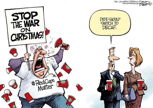 the war on christmas shouldnt be fought on decaf - The War On Christmas
